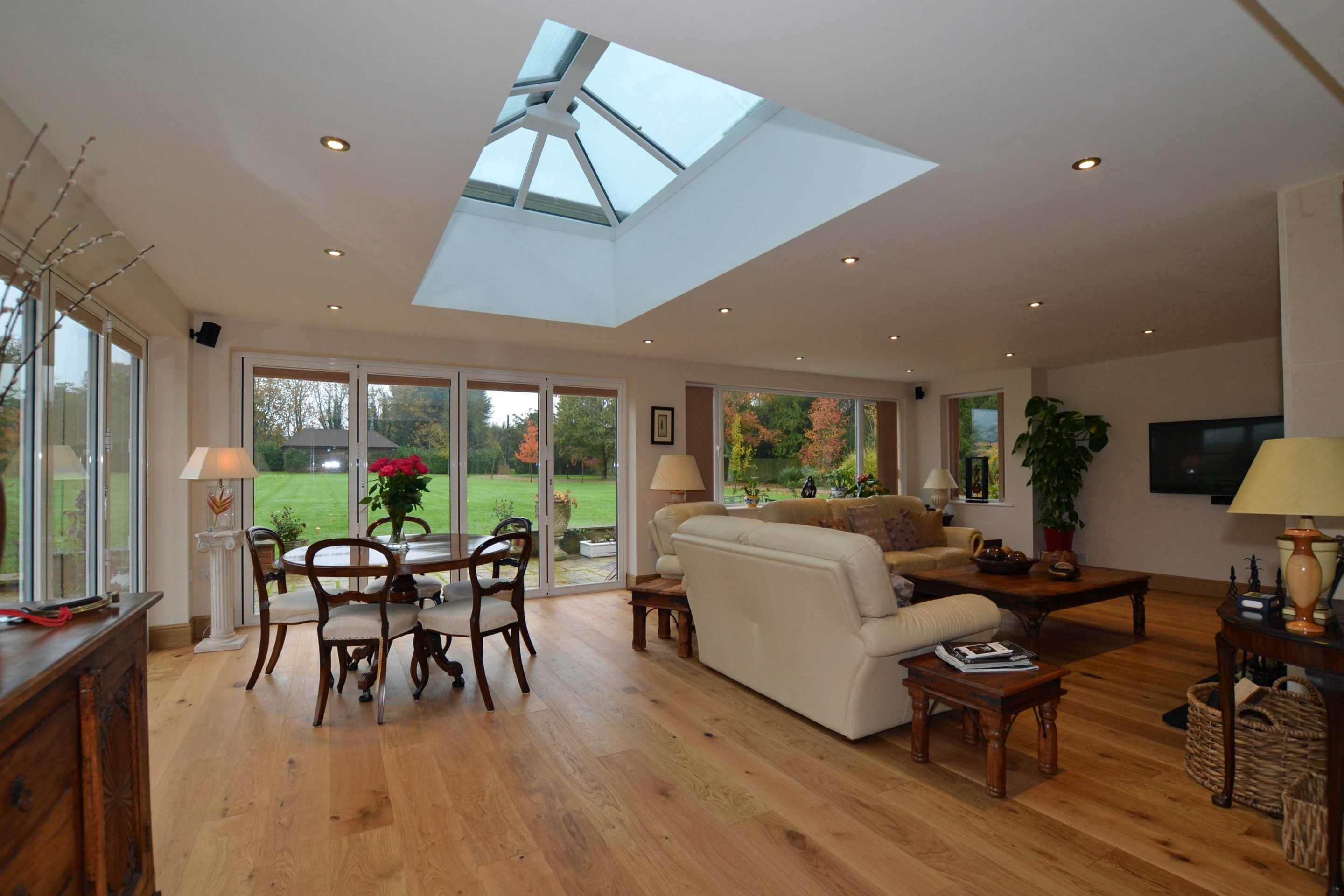 Single storey house extension marlborough wiltshire for House extension interior designs